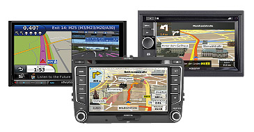 Multimedia und Navigationsysteme: Xzent, kenwood, Zenec